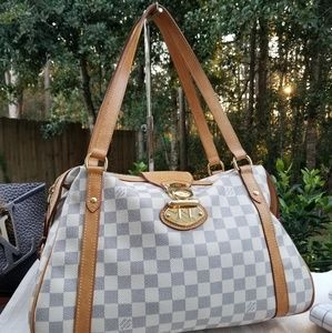 Louis Vuitton Tresa damier azur Genuine